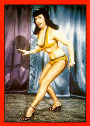 Bettie Page - Verneigend