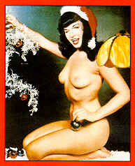 Bettie Page - Merry Christmas