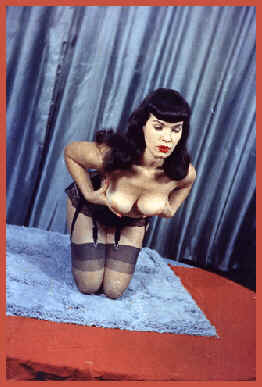 Bettie Page - Holding...