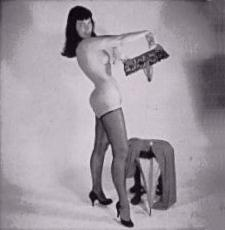 Bettie Page - Strip