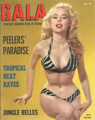 Pin Up Magazines - Gala 1955