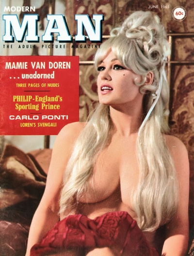 Pin Up Magazines - Modern Man 1965