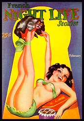 Pin Up Magazines - French night life stories