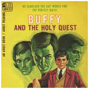Pulp Fiction Covers - Buffy and the holy Quest