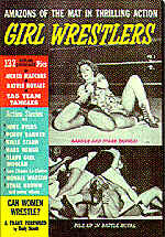 Pulp Fiction Covers - Girl Wrestlers