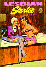 Pulp Fiction Covers - Lesbian Starlet