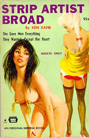 Pulp Fiction Covers - Strip Artist Broad