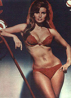Raquel Welch - red Bikini