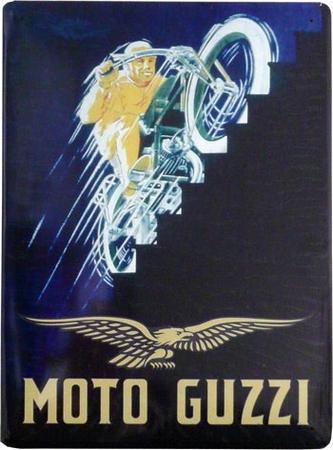 Moto Guzzi Blechschild
