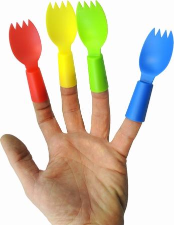 Finger Sporks - Fingerbesteck