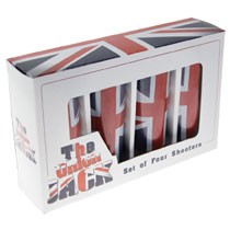 Schnapsglas 4er Pack - Union Jack