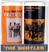 Gläser 2er Pack - Beatles (Help! Orange)