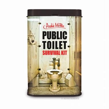 Public Toilet Survial Kit - Lebensretter für das öffentliche WC