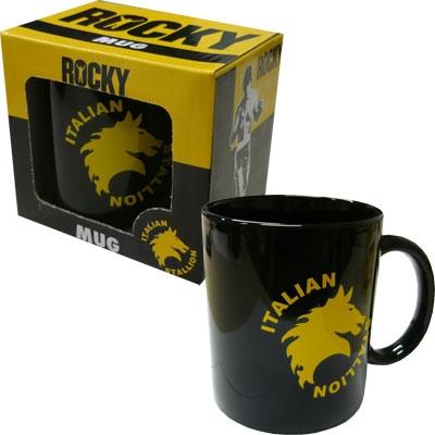 Tasse - Rocky schwarz