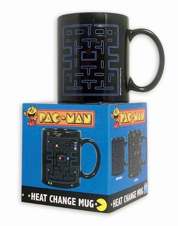 Pac-Man Thermoeffekt Tasse