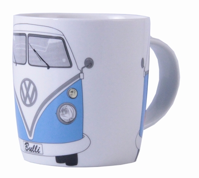 vw bus t1 bulli tasse blau volkswagen pr sentiert von. Black Bedroom Furniture Sets. Home Design Ideas