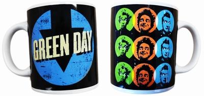 Green Day Tasse - Uno Dos Tre!
