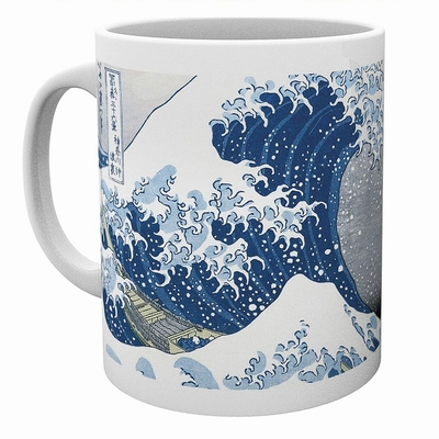 Hokusai Tasse Great Wave
