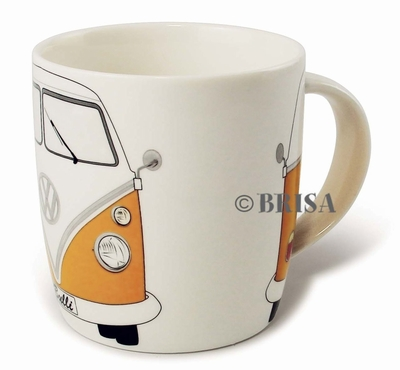 VW Bulli Kaffeetasse - orange - Volkswagen