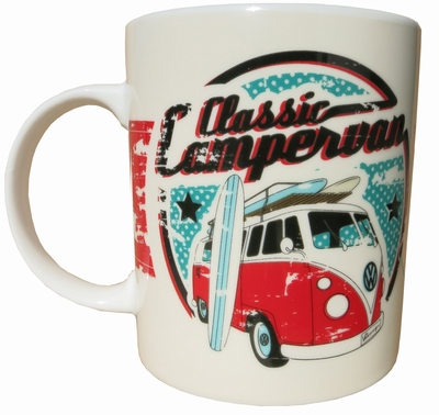 vw bus t1 bulli tasse campervan surf pr sentiert von klang. Black Bedroom Furniture Sets. Home Design Ideas