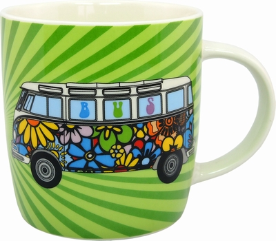 vw bus t1 bulli tasse hippie bulli volkswagen vw. Black Bedroom Furniture Sets. Home Design Ideas