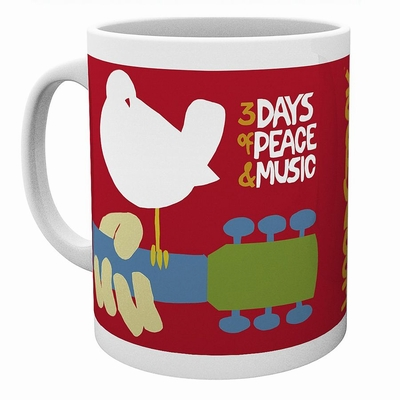 Woodstock Tasse 3 Days of Peace