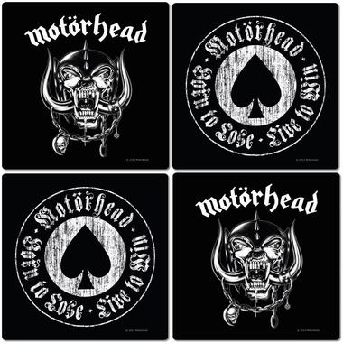 Motörhead Coaster Set - 4 Untersetzer