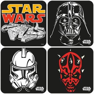 Star Wars Coaster Set 1 - 4 Untersetzer