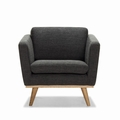FIFTIES ARMCHAIR ANTHRAZIT MELIERT