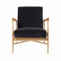 FLOATING ARMCHAIR SAMT GRIS CHIC