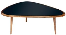 klang und kleid m bel nierentisch fifties 50er jahre klein schwarz. Black Bedroom Furniture Sets. Home Design Ideas