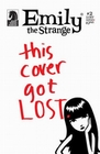 2 x EMILY THE STRANGE COMIC - THE LOST ISSUE