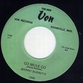 1 x JOHNNY BURNETTE - YOU'RE UNDECIDED