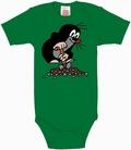 1 x BABYBODY - DER KLEINE MAULWURF - GR�N