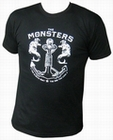 2 x THE MONSTERS - HURT - MEN-SHIRT