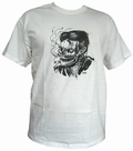 1 x SMOKE KILLS - WHITE - MEN SHIRT