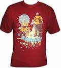2 x LUCHA LIBRE SHIRT - SICODELICO - RED