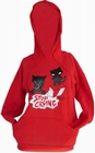2 x EMILY THE STRANGE - STOP CRYING PULLOVER HOODY