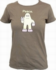 AMOS - PEACE - SHITAKE - GIRL SHIRT
