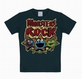 2 x KIDS-SHIRT - SESAMTRASSE - MONSTERS OF ROCK