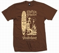 4 x EXOTICA GROOVIN HULA - MEN SHIRT - BROWN