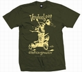 4 x EXOTICA GROOVIN HOT ROD -MEN SHIRT - OLIVE