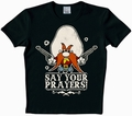 3 x LOGOSHIRT - LOONEY TUNES - SAY YOUR PRAYERS! SHIRT