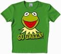 2 x LOGOSHIRT - MUPPETS - KERMIT - GO GREEN SHIRT VINTAGE