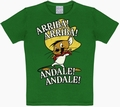 2 x KIDS SHIRT - LOONEY TUNES - ARRIBA! ANDALE! GRÜN
