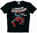 3 x LOGOSHIRT - SPIDERMAN KIDS SHIRT - MARVEL - SCHWARZ