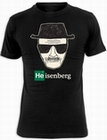 3 x BREAKING BAD T-SHIRT HEISENBERG WALTER WHITE - SCHWARZ