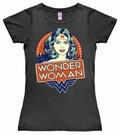 LOGOSHIRT - DC WONDER WOMAN PORTRAIT - GIRL SHIRT