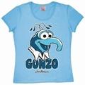 2 x LOGOSHIRT - MUPPETS GONZO - GIRL SHIRT