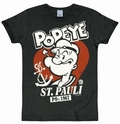 1 x LOGOSHIRT - POPEYE ST. PAULI SHIRT